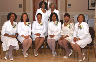 Members of the North Broward County Chapter