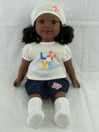 Local businesswoman continues to meet needs of Black girls through doll line with new chocolate skin addition