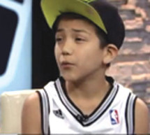 Mexican boy gets racist tweets when singing the National Anthem at the NBA Finals
