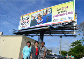 NEW LOOK BEFORE YOUR LOCK New 'Look Before You Lock' billboards unveiled to save lives­