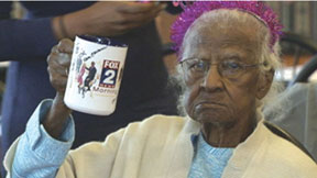 OLDEST PERSON IN AMERICA Oldest person in America gets card from Obama for 114th birthday