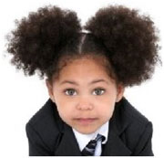 Banning Braids and afro puffs