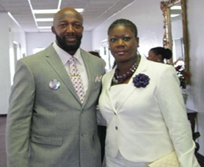 Trayvon Martin's parents, Tracy Martin and Sabrina Fulton