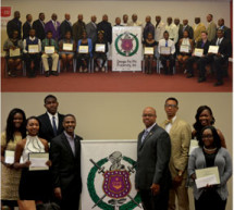 Zeta Chi Chapter of Omega Psi Phi Fraternity, Inc. awards six $1,000.00 scholarships