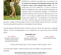 100 Black Men of Greater Fort Lauderdale 2013 Golf Tournament and Scholarship Luncheon