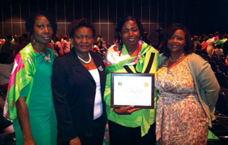 AKAS Chi Psi Omega Chapter Wins Again at International Conference