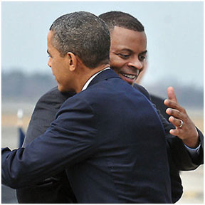 Anthony Foxx and President Barack Obama
