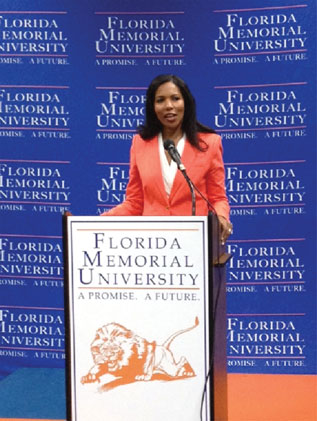 Dr. Roslyn Clark Artis  Florida Memorial University appoints its interim president