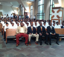 Young African-American males culminate FAMU's summer program especially tailored for them