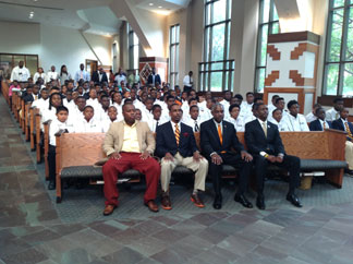 Young African American Males Culminate FAMU's Summer Program