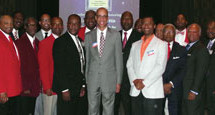 The Men of the Fort Lauderdale Alumni Chapter of Kappa of Alpha Psi