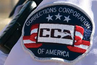 Largest prison- Corrections Corporation of American (CCA)