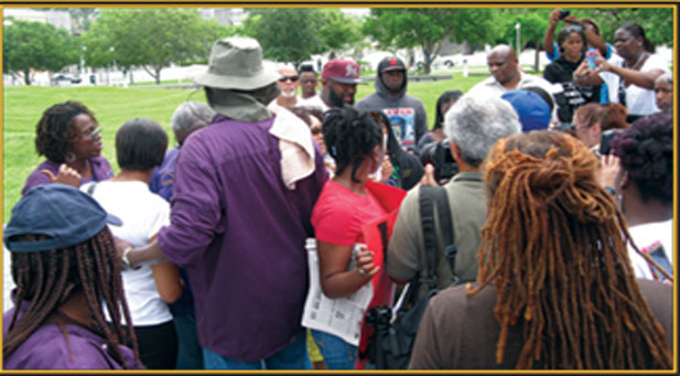 NAN hold Trayvon NAN holds Trayvon Martin rally and protest