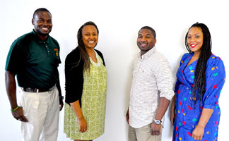 UCSB FAMU Thaddeus Kiara Ch FAMU students selected for Santa Barbara Research Scholars Program