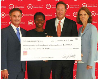 Urban League of Broward Cou Urban League of Broward County receives $300,000 gift from Wells Fargo