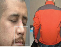 If Trayvon Martin was pounding Zimmerman MMA Style on the dirt, why was Zimmerman's jacket so clean?