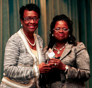 Arthenia Joyner and Barbara Incoming Senate Democratic Leader Arthenia L. Joyner Honored with Lawyers' Committee's 2013 Distinguished Civil Rights Advocate Award