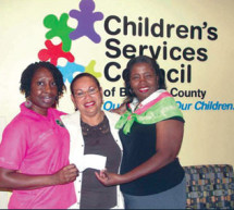 Chi Psi Omega Chapter sponsors Children's Services Council