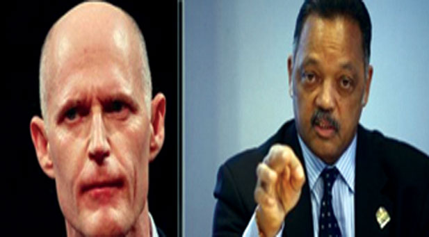 FLORIDA GOVERNOR OUTRAGED2 Florida Governor outraged at Rev. Jesse Jackson for speaking up about racism in the state