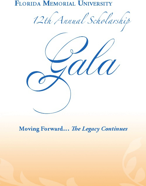 MemorialGalaInvitation 1 1 Florida Memorial University Scholarship Gala