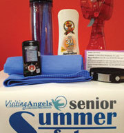 Local families fight heat with 'Summer Safety Kits' for seniors