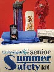 Senior Summer Safety Kit Local families fight heat with 'Summer Safety Kits' for seniors