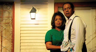 """Forest Whitaker and Oprah WInfrey in """"The Bulter."""""""