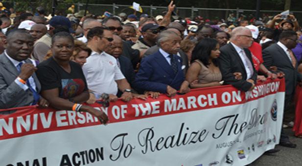 Rev. Sharpton keynotes Saturday's march