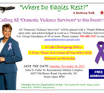 Eagles Tour Purple Ribbon