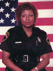 FLA CITY VALERIE HUGLEY Florida City's first Black female police officer retires