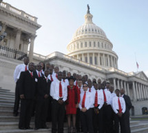 The Role Models were in the Nation's Capitol to participate in Congresswoman Wilson's forum 'High School Class of 2014: Saving Our Sons'