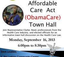 Affordable  Care Act  (ObamaCare) Town Hall
