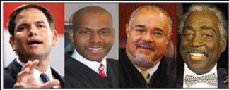 U.S. Sen. Rubio, Judge Williams, Judge Davis and Judge Ferguson