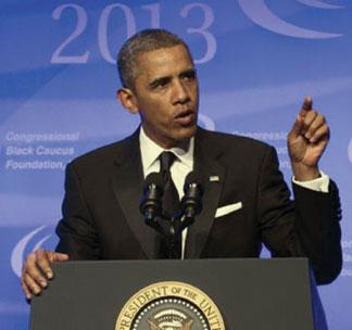 OBAMA CBC President Obama reignites push for gun legislation