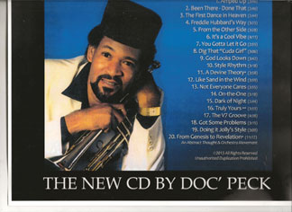 PECK Local South Florida native Irvin Doc' Peck has released his new CD