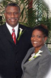 Rev. Cook and wife Dorothy Cook