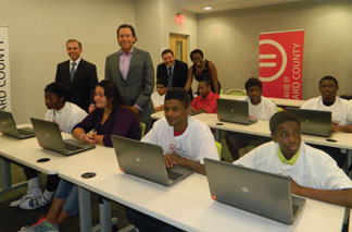 URBAN LEAGUE Urban League of Broward County turns up the technology switch in digital classrooms