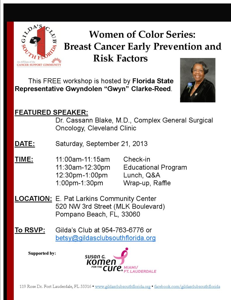 WOC 9 21 13 791x1024 Women of color Series  Breast Cancer Early Prevention and risk factors