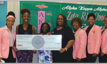Zeta Rho Omega's emerging young leaders and health initiative efforts made a difference