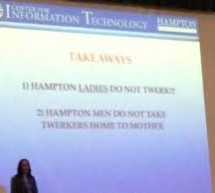 "Hampton University students advised on ""dangers of twerking"" during freshman orientation  By Your Black World"