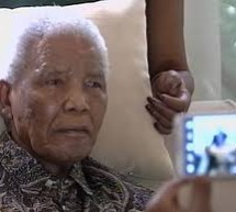 Nelson Mandela sent home from  the hospital, but is still struggling quite a bit