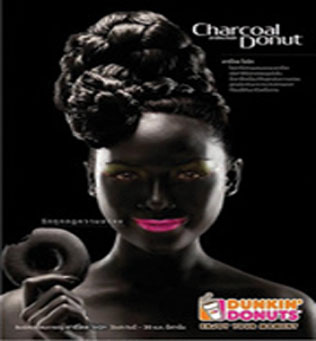 dunkin1n 2 web 1 Unbelievable: Dunkin Donuts uses Black face to advertise charcoal doughnut