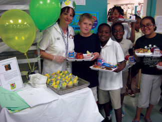 kids BCPS Food and Nutrition Services Department receives USDA Best Practice Award