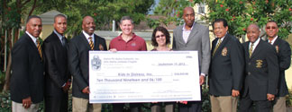 Alphas donate over &10,000 to Kids In Distress