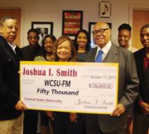 1963 CSU Alumnus Joshua Smith donates $50,000 to WCSU.FM