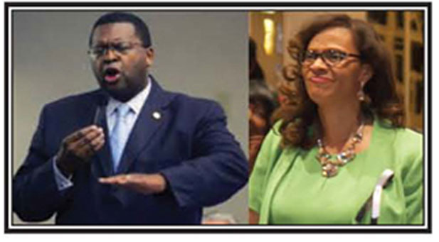 Florida Democratic House Leader Rep. Perry Thurston and Rev. Dr. Rosalind Osgood
