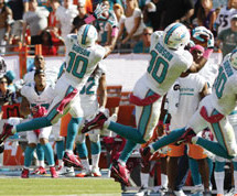 Dolphins fall to Ravens 26- 23
