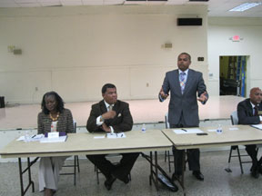 MIAMI CITY 2 Miami city commission candidates debate in upper eastside