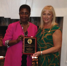 Rep. Hazelle Rogers earn  honors and Susan Starkey, President of the Broward League of Cities