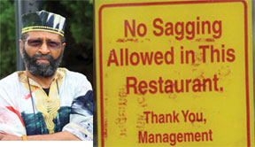 Sagging Sagging pants banned in some Texas restaurants